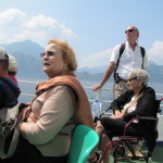 Silver Wings Special Needs Travel Clients At Lake Como